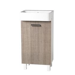 meubles meuble lave mains mini 25 45 60 cm blanc structure ouverture droite achat vente. Black Bedroom Furniture Sets. Home Design Ideas