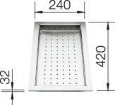 Accessoires Blanco|Vide-sauce