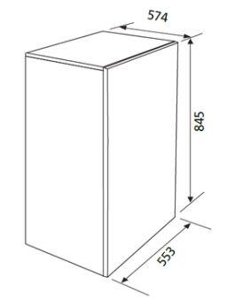 Table top blanc GLEM - GRTF11A