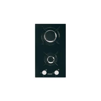 Domino verre gaz noir GLEM - GV32BK