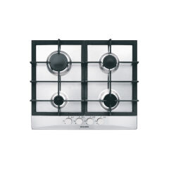 Table gaz 4 foyers 60 cm inox GLEM - GT64HIX