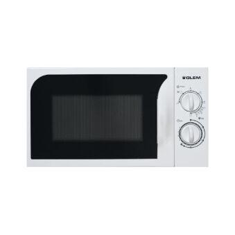 Micro-ondes pose libre 20 L blanc GLEM - GMF202WH