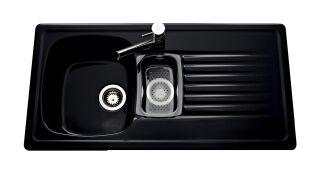 Villeroy & Boch - TARGA 60 1000X510 GLOSSY BLACK