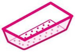 LUISINA - Bac vide-sauce transparent pour l'évier 5032D et 5038D
