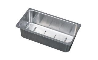 LUISINA - Bac vide-sauce en inox pour l'évier EV22411LC