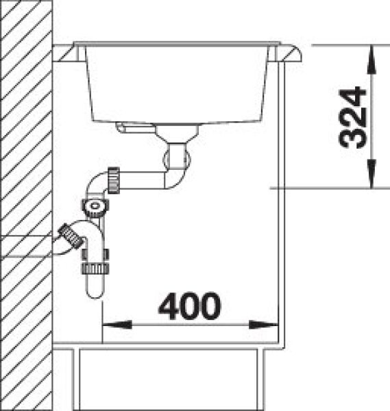 eviers encastrer evier blancometra 9 granit. Black Bedroom Furniture Sets. Home Design Ideas