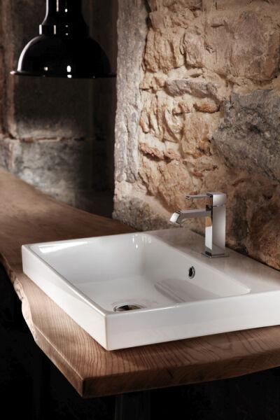 vasques c ramique lavabo ceramique normal l 60 p 45 h 10 cm blanc brillant achat vente ondyna. Black Bedroom Furniture Sets. Home Design Ideas