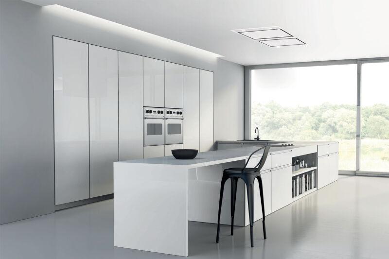 hotte de plafond silverline zafire 100 cm inox sans moteur. Black Bedroom Furniture Sets. Home Design Ideas
