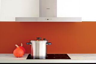 Hotte décorative silverline Boreal 90cm inox