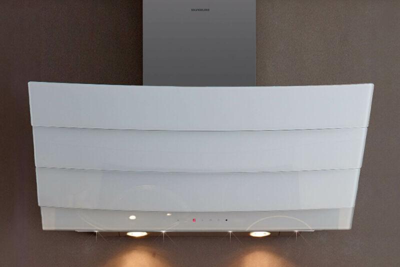 hotte murale silverline city 90 cm blanche. Black Bedroom Furniture Sets. Home Design Ideas