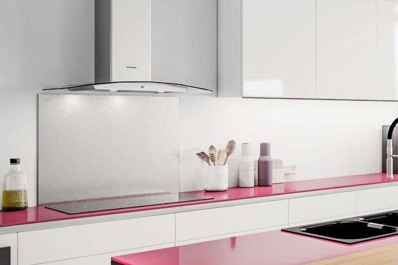 hotte murale silverline kalinka 90 cm inox et verre tremp. Black Bedroom Furniture Sets. Home Design Ideas