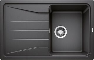 EVIER BLANCO SONA 45S PDUR ANTHRACITE &SIPHON
