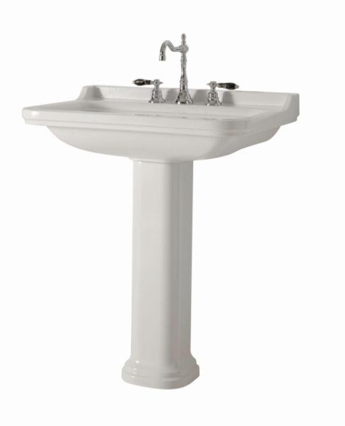 vasques c ramique lavabo ceramique waldorf 60 55 cm percage 3 trous achat vente ondyna wd6155. Black Bedroom Furniture Sets. Home Design Ideas