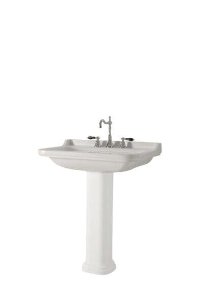 vasques c ramique lavabo ceramique waldorf 80 55 cm percage 3 trous achat vente ondyna wd8155. Black Bedroom Furniture Sets. Home Design Ideas