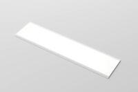 LUISINA - Radia - Panneau lumineux LED 900 mm à poser coloris Aluminium
