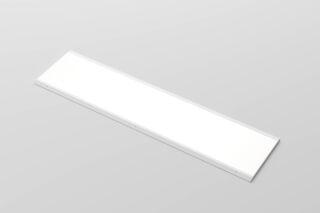 LUISINA - Radia - Panneau lumineux LED 600 mm à poser coloris Aluminium