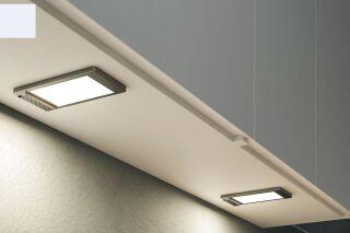 LUISINA - Sonia - Spot large LED à encastrer coloris Blanc avec interrupteur + audio