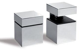 LUISINA - Supports de tablette carré - Support de tablette carré coloris Satiné