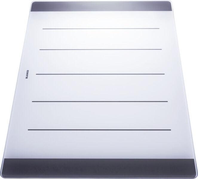 planche a decouper en verre securit p axia achat vente blanco 225124. Black Bedroom Furniture Sets. Home Design Ideas