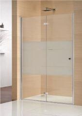 Portes pliantes pour niche 900 multi s 4000 droite PAROIS DE DOUCHE - GFPNR900SHLA10