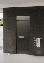 Porte coulissante 1 element 1000 acqua 5000 gauche PAROIS DE DOUCHE - XT1LXB5CSHAQ10
