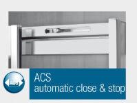 """Option acs """"automatic close stop"""" pour parois de douche parois de douche - ACS001"""