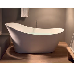 Baignoire ovale venezia acrylique 1670x820 BAIGNOIRE - COLBVEN167