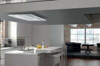 LUISINA - Airone - Janus - Hotte plafond Airone Janus 120 cm coloris Blanc