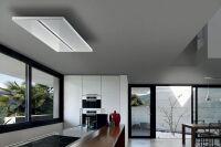 LUISINA - Airone - Janus - Hotte plafond Airone Janus 90 cm coloris Blanc