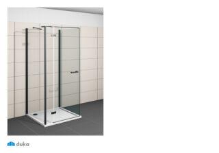 Paroi fixe laterale specifique construction u 800 gallery 3000 PAROIS DE DOUCHE - GW2ZSB1800NERA10