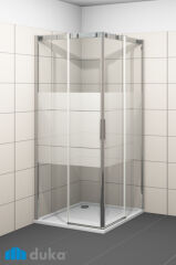 Cabine angle 2 elements ms 900 acqua r 5000 gauche PAROIS DE DOUCHE - QE2SH1900CSHTS10
