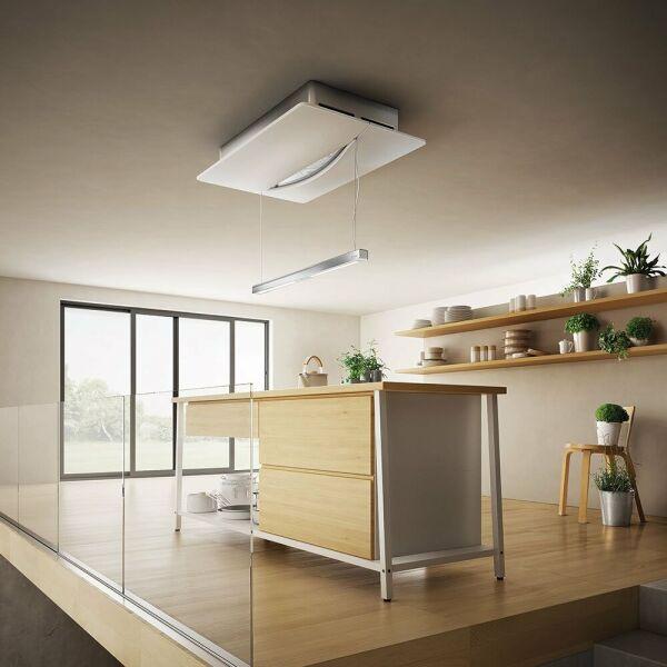 elica empty sky hotte en lot elica empty sky 120x70 cm coloris inox et verre version. Black Bedroom Furniture Sets. Home Design Ideas