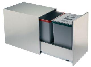 LUISINA - Ecoli + - Poubelle tri sélectif 2 x 18 litres