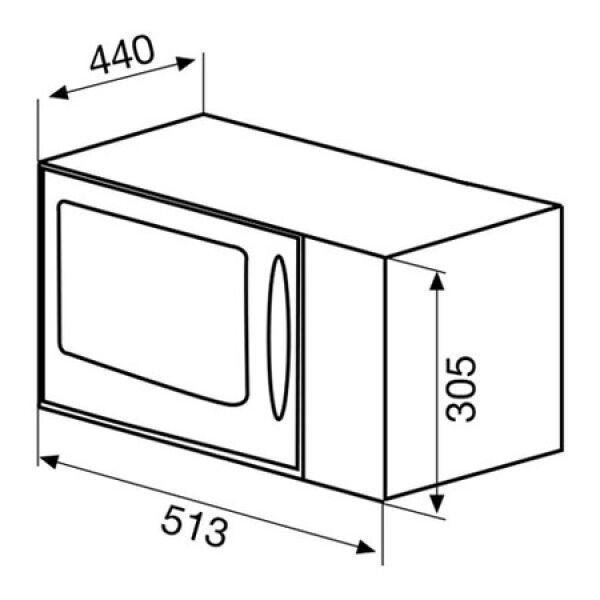 micro ondes gril pose libre glem gmf254bk achat vente glem gmf254bk. Black Bedroom Furniture Sets. Home Design Ideas