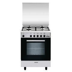 Cuisinière gaz catalyse 60 x 50 cm inox GLEM - GA650CMIX