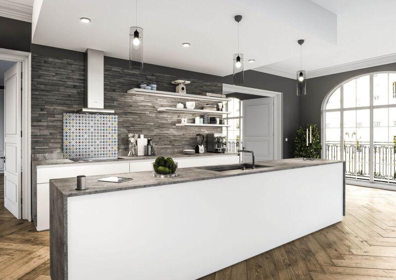 luisina fonds de hotte luisiglass fond de hotte aluminium 900 x 700 mm graphik vintage. Black Bedroom Furniture Sets. Home Design Ideas