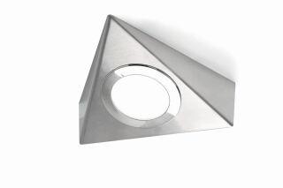LUISINA - Toby - Kit Toby - 2 spots à poser  coloris Inox + câblage + convertisseur