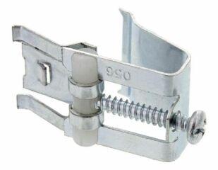 Patte de fixation avec 1 griffe 13-28 mmsous-montage - entièrement en métal - pour plans de travail de 13-28 mm - pour éviers en acier inoxydable