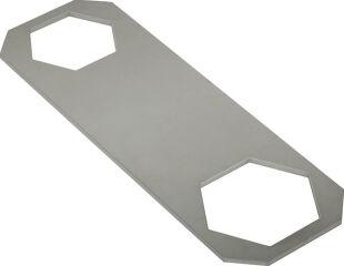 Clé pour cartouche surplat = 30 mm, surplat = 36 mm tôle