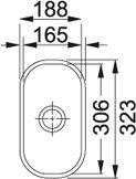 Armonia - AMT 110-16 Inox Microdekor