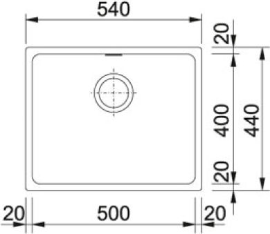 Kubus - KBG 110-50 Fragranit+ Graphite