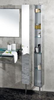 Armoire inox tournante avec miroir MEUBLES - PK51506