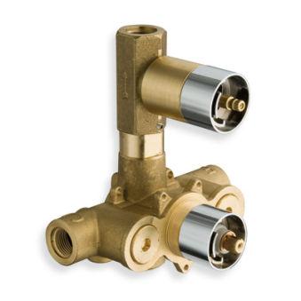 Mecanisme encastre thermostatique 1 sortie seul CORPS ENCASTRES - PD71251