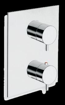 Douche encastree triverde thermostatique 2 sorties / xt85251 TRIVERDE - TV81351