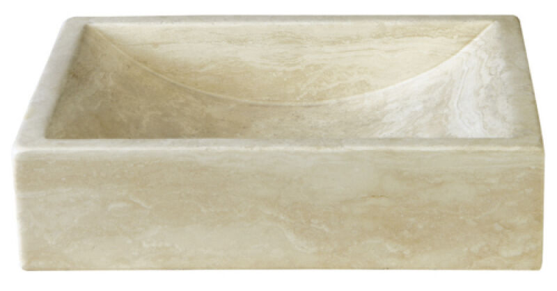 vasques vasque en pierre rectangulaire 40 30 10 cm sable achat vente ondyna uc3105. Black Bedroom Furniture Sets. Home Design Ideas