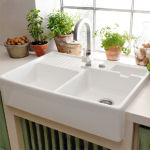 Villeroy & Boch - TRADITION 2 CUVES WHITE PEARL
