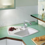 Villeroy & Boch - ARENA ANGLE 975X625 BLANC C+