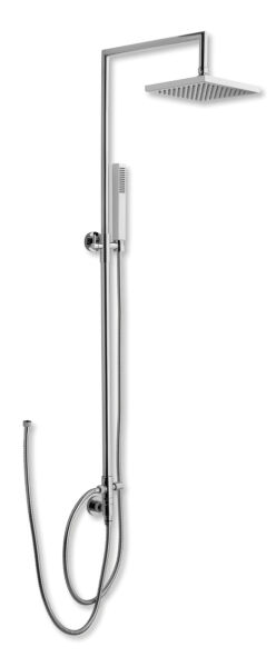 colonne de douche carree quarelo sans robinetterie avec curseur achat vente ondyna qc24651. Black Bedroom Furniture Sets. Home Design Ideas