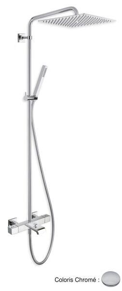 Colonnes de douche colonne quadri bain douche bagno 300 - Colonne de douche bain ...