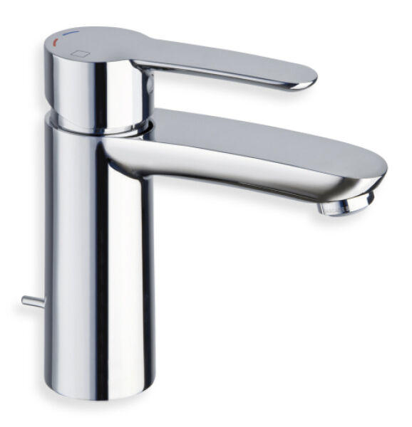 Robinets pour lavabos lavabo large new day nf c 1 chrome for Lavabo pour cuisine